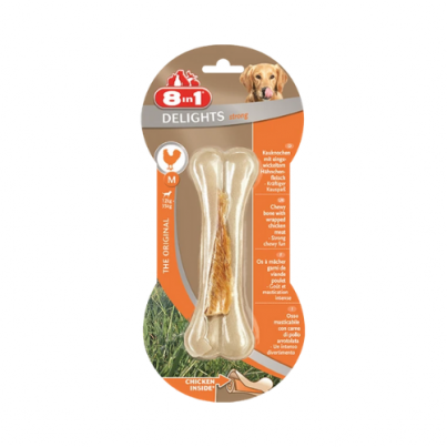 8in1 Bone Delights Strong Chicken XSmall – Large