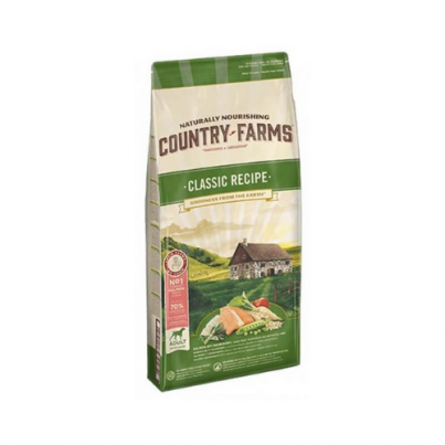COUNTRY FARMS™ Classic Recipe Adult Rich in Salmon 2,5-12kg