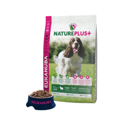 Eukanuba™ Natureplus Lamb Medium Breed 10kg